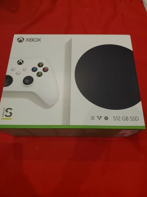 BRAND NEW Microsoft Xbox Series S 512GB SSD HDR Gaming Console + Controller