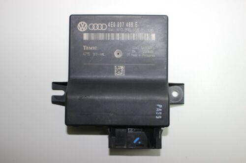 2007 Audi A8 Gateway Einheit 4E0907468E