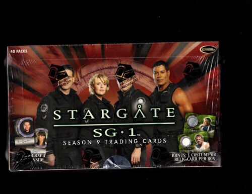 Stargate SG.1 season 9 Factory Sealed Box