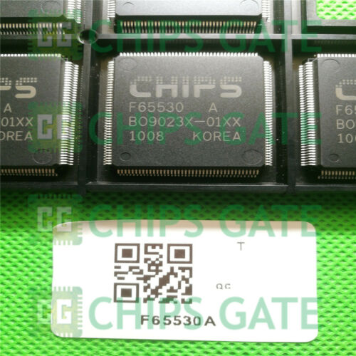 1PCS CHIPS F65530A QFP TRIPLE 10-BIT VIDEO D-A CONVERTER