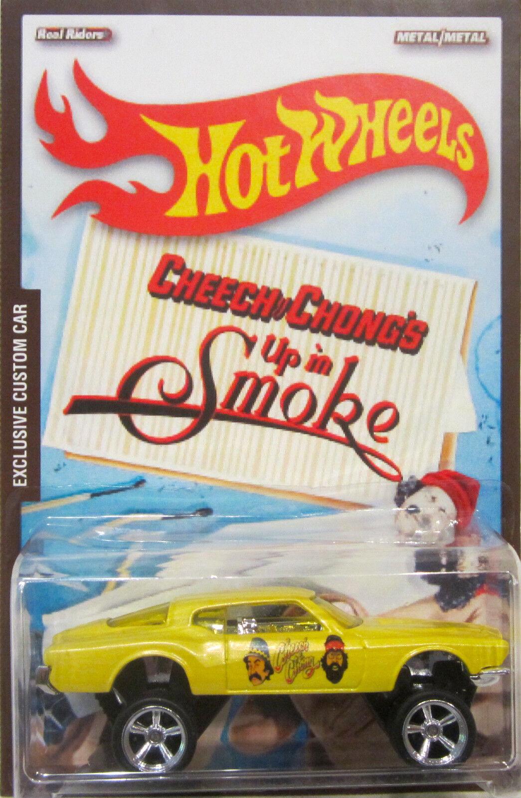 Hot Wheels a Medida 1971 Buick Riviera Cheech & Chong Real Riders 1 5 Made