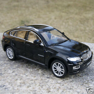 BMW X6 Model Cars 1:32 Collection/&Gifts Toys Sound/&Light Alloy Diecast Blue New