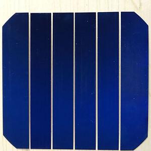 Details about 0 5W 0 5V High Efficiency Back Contact DIY 1/6 Cut Sunpower  Solar Cell 36pcs/lot
