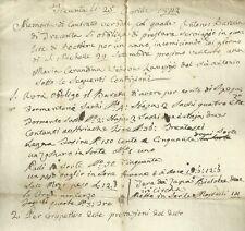 Trecenta - Contratto di Prestazione di Boattiere 1842