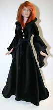 """Hallows Night Robe Doll Clothes Sewing Pattern 22"""" American Model Tonner"""