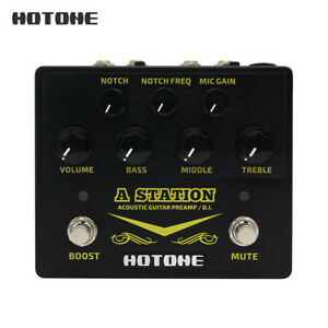 Hotone-A-Station-Acoustic-Preamp-DI-Box-Guitar-Microphone-Guitar-Effects-Pedal