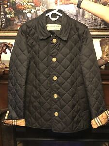 BURBERRY-FRANKBY-QUILTED-JACKET-WOMENS-XL-BLACK