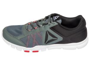 2c254935686 Men s Reebok Yourflex Train 9.0 MT Sneaker Running Shoes Navy Gray ...