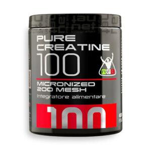 NET PURE CREATINE 100 integratore alimentare di creatina micronizzata 200g