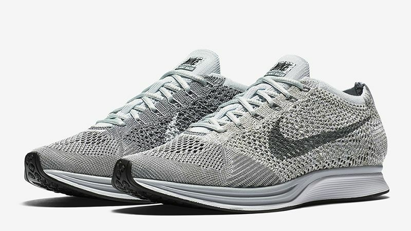 2018 NIKE FLYKNIT RACER PURE PLATINUM ALL TailleS 6 7 8 9 10 11 12 NEW