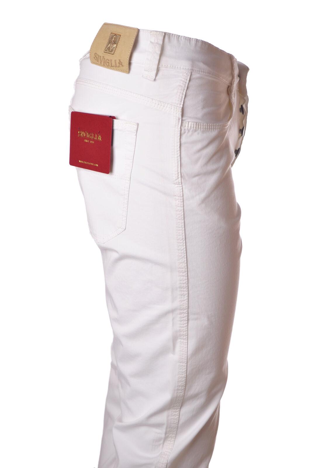Siviglia  -  Pants - Male - White - 4696024N173550