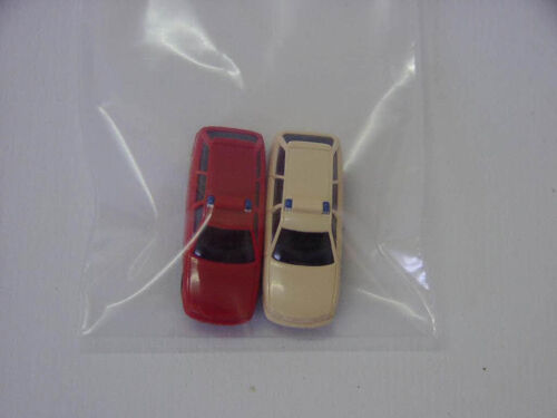beige 1:160 Spur N Neu Rietze 91014-2 2x Audi A6 Blaulicht rot