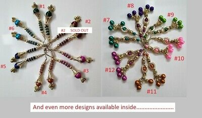 India Craft Red Tassel Hanging Tassel Blouse Saree Accessories Latkan