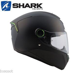 Casque-integral-SHARK-Skwal-noir-mat-3-leds-moto-route-micrometrique-solaire