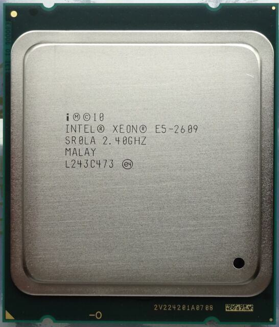 Nuevo Intel Xeon E5-2609 2.40GHz Quad-Core LGA2011 SR0LA OEM CPU Sandy Bridge EP