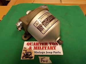 Jeep willys mb gpw fuel filter ford gpw style museum quality image is loading jeep willys mb gpw fuel filter ford gpw sciox Choice Image