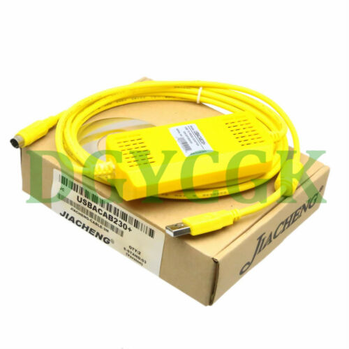 USB-DVP Programming Cable for DELTA DVP PLC win7 Immunity Lightning USBACAB230