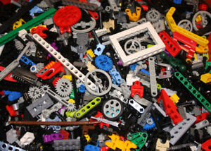 LEGO-Technic-500gr-halbes-Kilo-reine-Technik-Teile