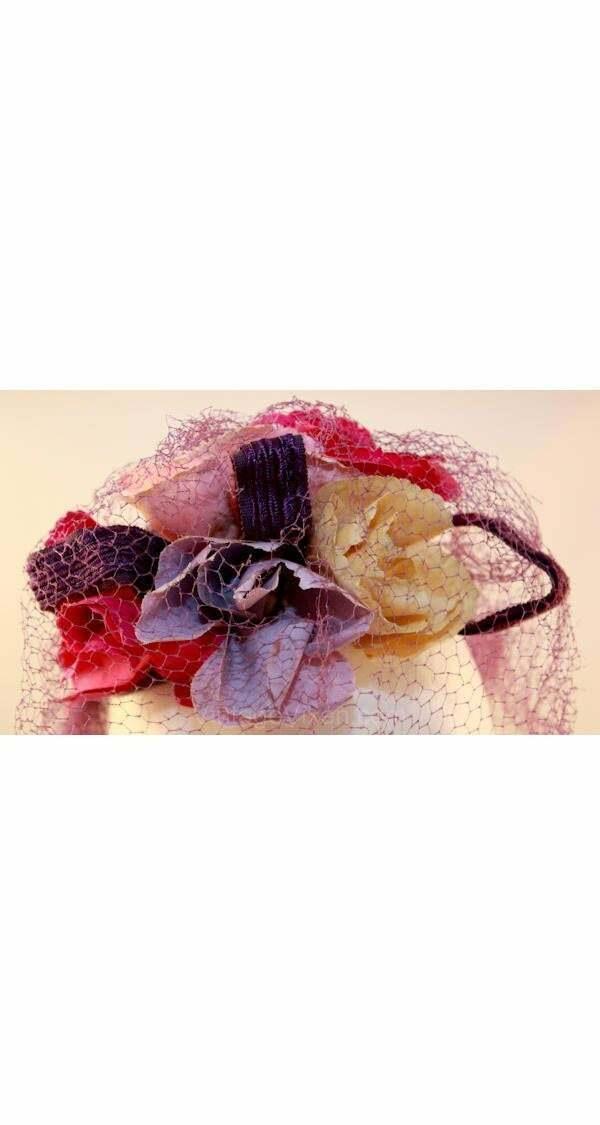 40s Hat - Wonderful 1940s Purple Veiled Millinery… - image 5