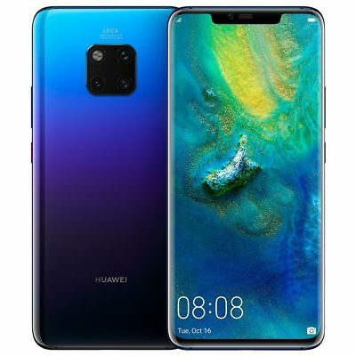 "Huawei Mate 20 Pro LYA-L0C 128GB (FACTORY UNLOCKED) 6.39"" Black Green Twilight"