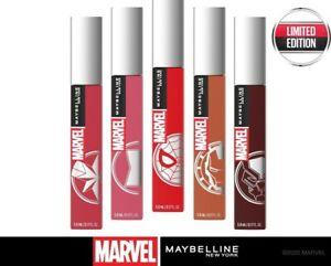 MAYBELLINE MARVEL SuperStay Matte Ink Liquid Lipstick 5ml - CHOOSE- NEW Sealed