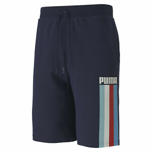 PUMA-Celebration-Men-039-s-Shorts-Men-Knitted-Shorts-Basics