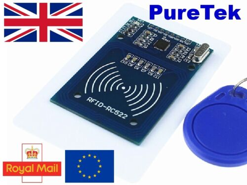 NFC MFRC 522 RC522 RFID RF IC Card Módulo con Tarjeta Y Llavero Para Arduino