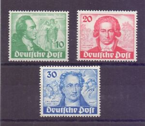 Berlin-1949-Goethe-MiNr-61-63-postfrisch-Michel-320-00-247
