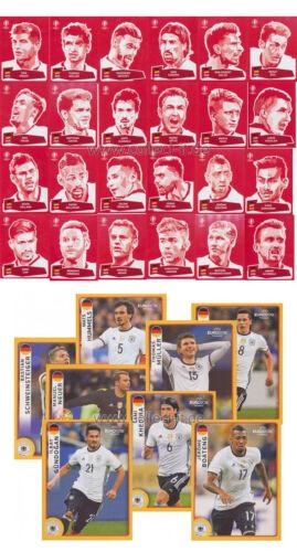 coca cola sticker completo-set UEFA Euro 2016 France Panini McDonald/'s