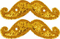 Shwings Gold Mustache Wings Shoes Official Designer Shwings 11712