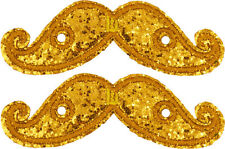SHWINGS Gold MUSTACHE wings shoes official designer Shwings NEW 11712