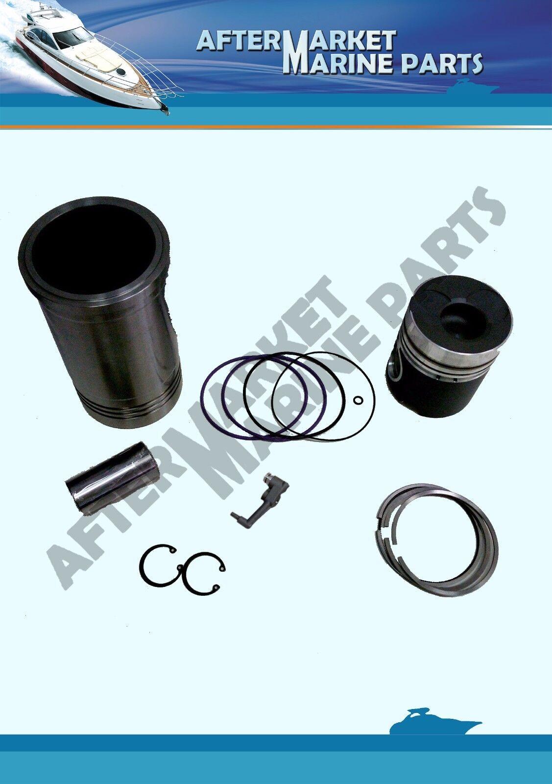 Cylinder Liner Kit for VOLVO Penta 31 41 Replaces 876099 867975 ...
