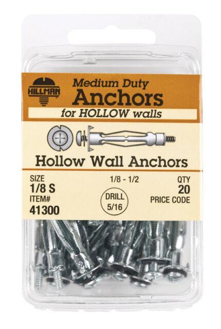 The Hillman Group 41306 Hollow Wall Anchor
