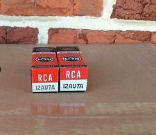 """Pair of Nos RCA 12AU7A / ECC82 ~ Preamp vacuum tubes ~KT~1958 ~L.P.~""""D Getter"""""""