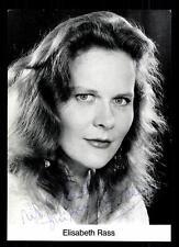Elisabeth Rass Autogrammkarte Original Signiert # BC 57818