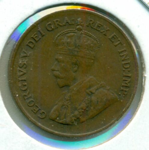 1927 CANADA SMALL CENT EXTRA FINE GREAT PRICE!