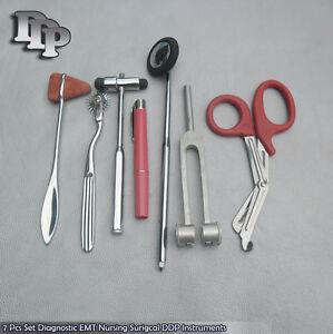 7-Pcs-Set-Diagnostic-EMT-Nursing-Surigcal-EMS-Supplies-DS-785