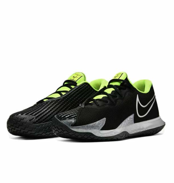 Size 9.5 - Nike Court Air Zoom Vapor Cage 4 Black Volt for sale ...