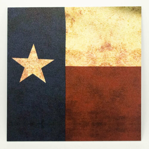 "Infused Kydex Texas Flag Print 7.5/"" X 7.5/"" Sheet Multi Lots Available"