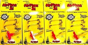 Vintage-Northland-Stinging-Mini-Airplane-Jig-Choice-of-Color-One-Package-AH5