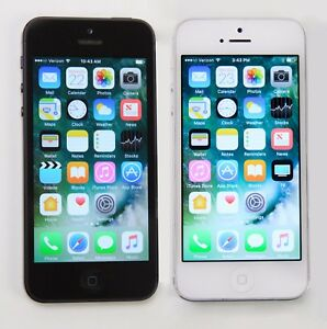 iPhone-5-16GB-32GB-64GB-Black-Slate-White-Silver-Unlocked-Verizon-Apple-Good