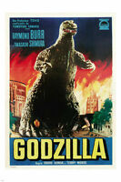 Godzilla - Fire Poster - 24x36 Classic Movie 9320