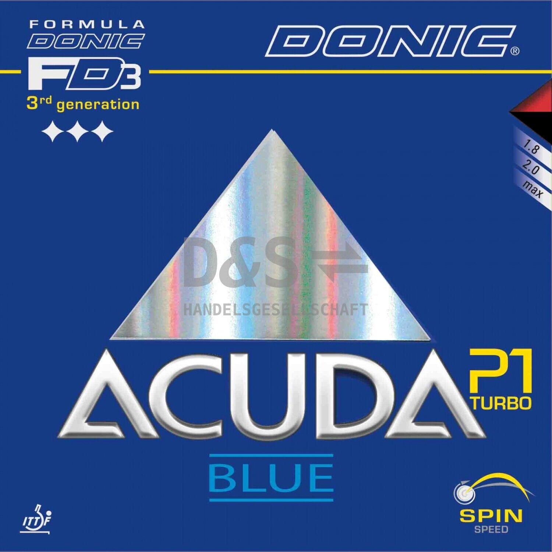 DONIC Acuda Blau Blau Blau P1 Turbo   NEU   OVP   NEW 31d0b5