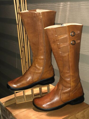 "Keen Bern Baby Bern 17"" Women's Leather Boots SZ 1"