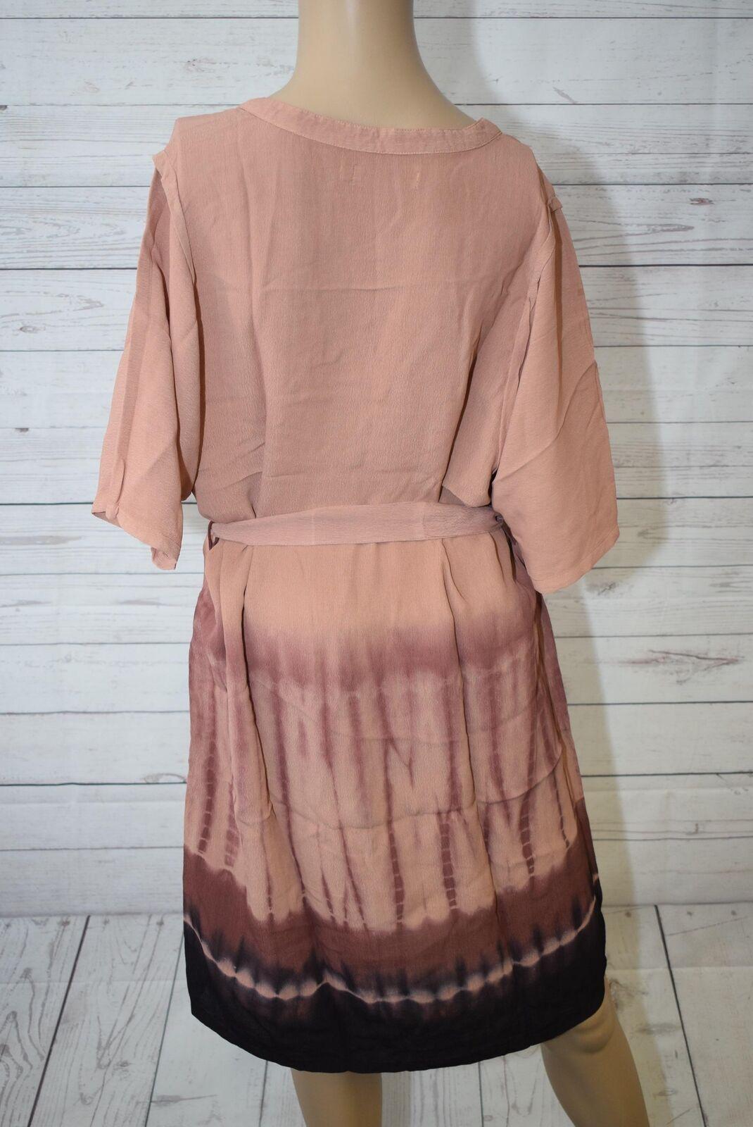 Cream Damen Blausen Blausen Blausen Kleid Nikki tunic Midi Gr. 38 Rosa 85b7dd