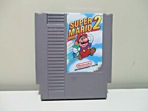 Super-Mario-Bro-s-2-Authentic-Nintendo-Game-NES-Cleaned-amp-Tested