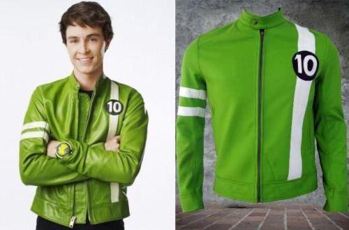 Ben 10 Alien Swarm Synthetic Leather Jacket
