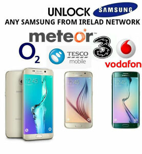 UNLOCK-CODE-SAMSUNG-GALAXY-A3-A6-J6-J3-6-2017-2018-VODAFONE-O2-THREE-EIR-IRELAND