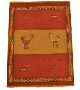 nouveau-Kelim-Qouchan-113-x-86-cm-tapis-kilim-laine-Nomad-carpette-tribale