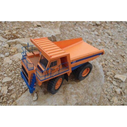 """Paper Modeling №145 Civilian Cars /""""BelAz 7555/"""" Paper Model Kit 1//32"""
